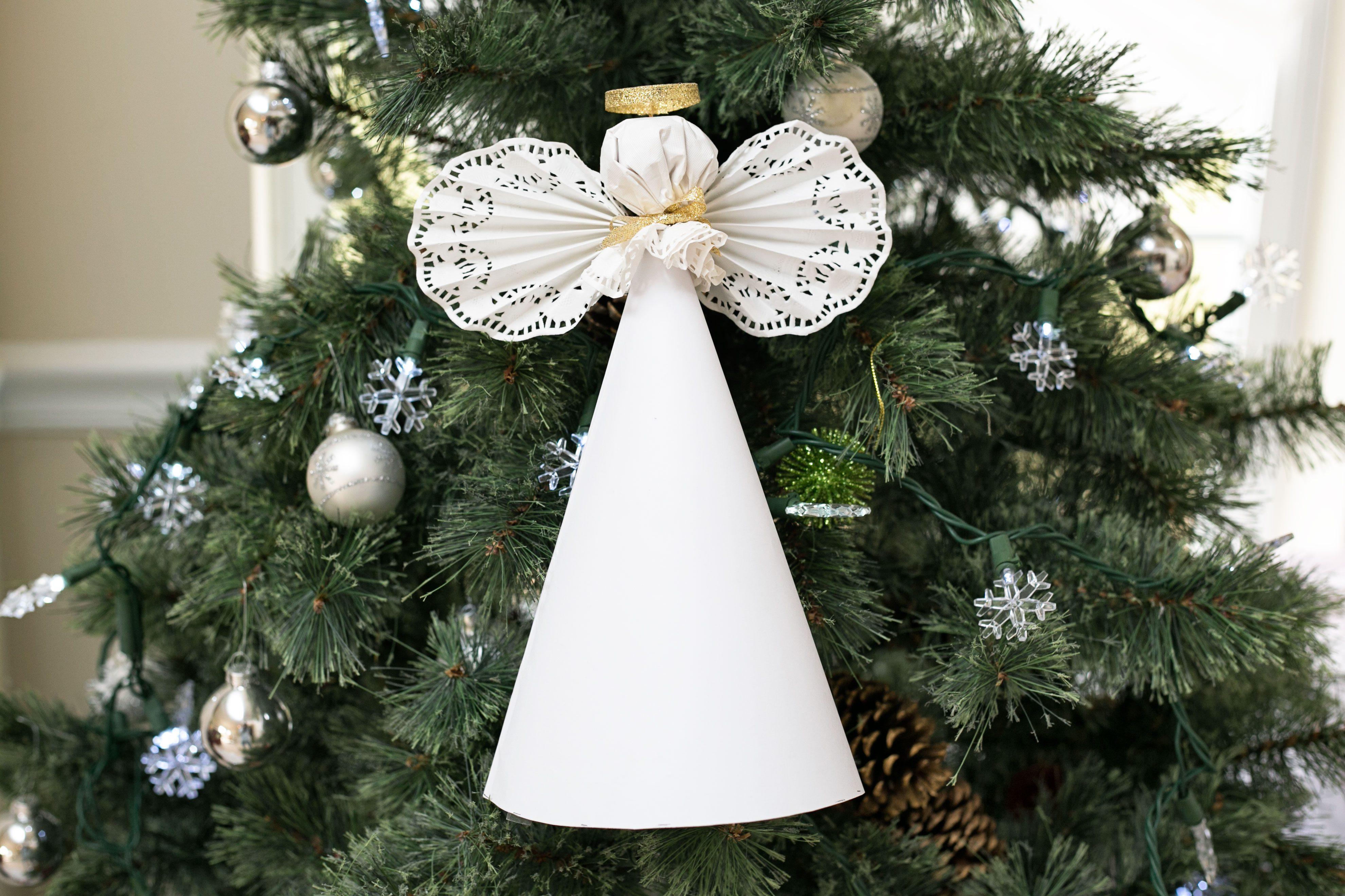 manualidades navidenas angel