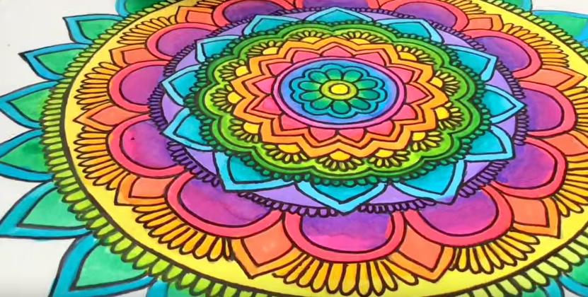 mandalas coloridos
