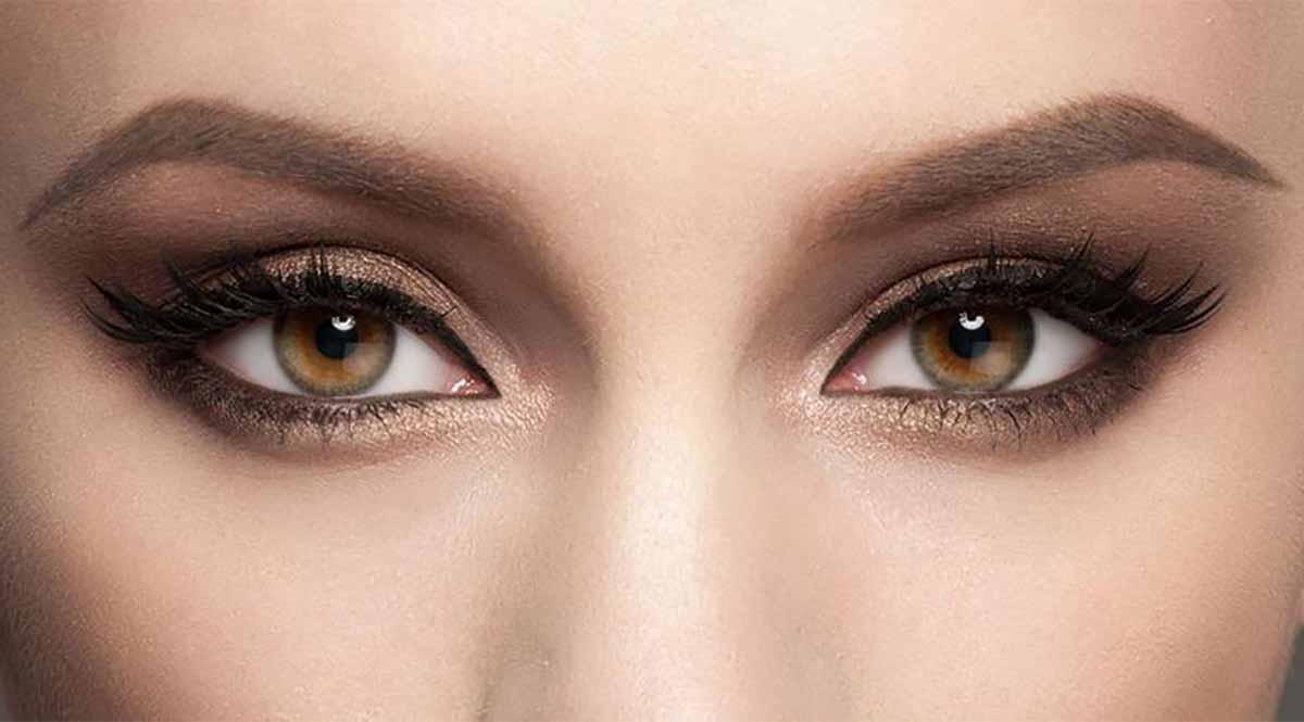 maquillaje para ojos marrones sombras