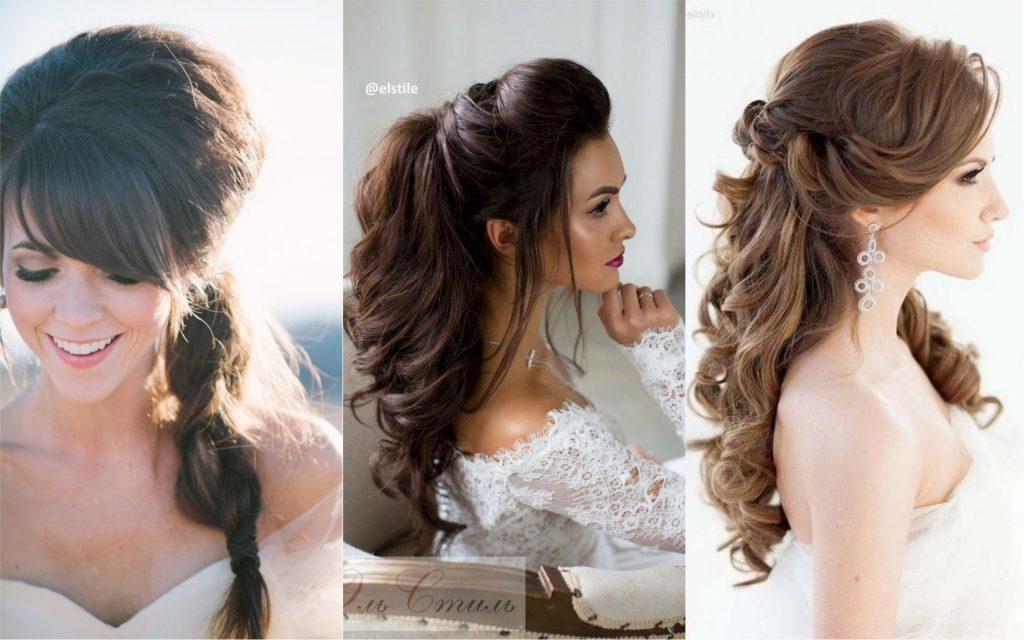 peinados para bodas semirecogido bouffant