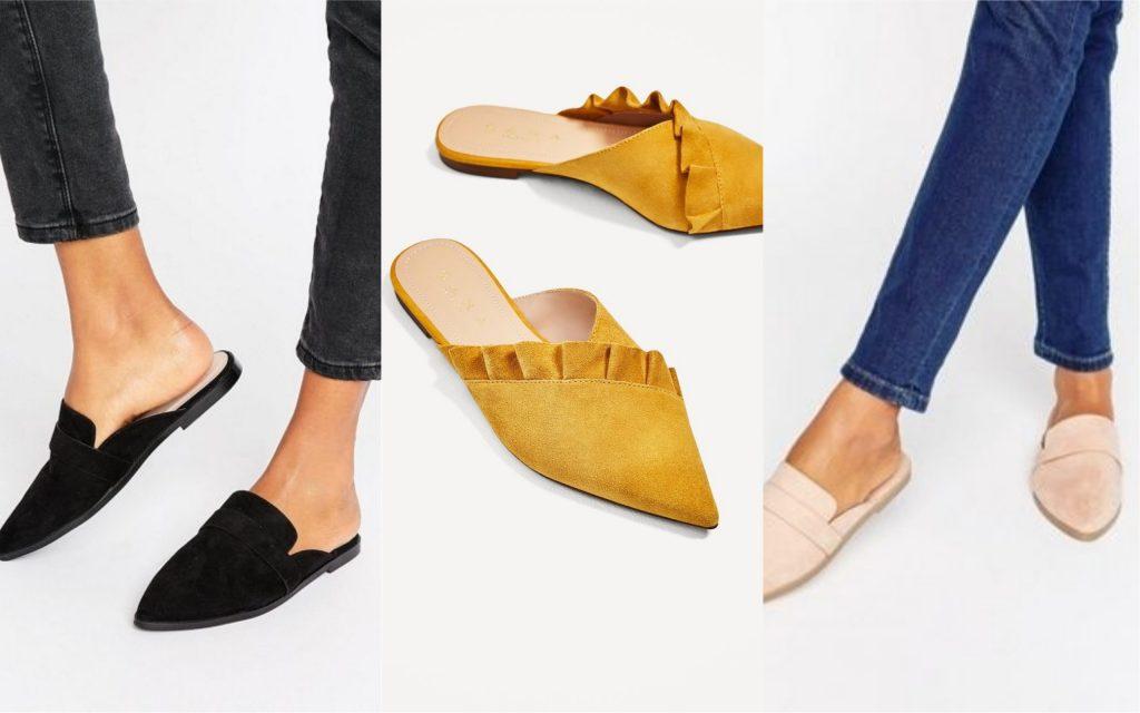 zapatos de mujer zuecos planos