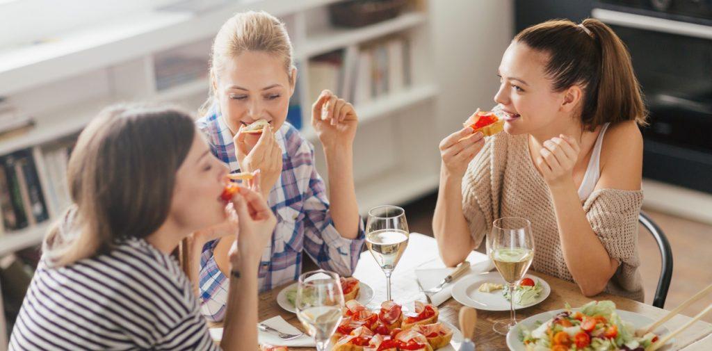 brunch con amigas en el dia de las madres