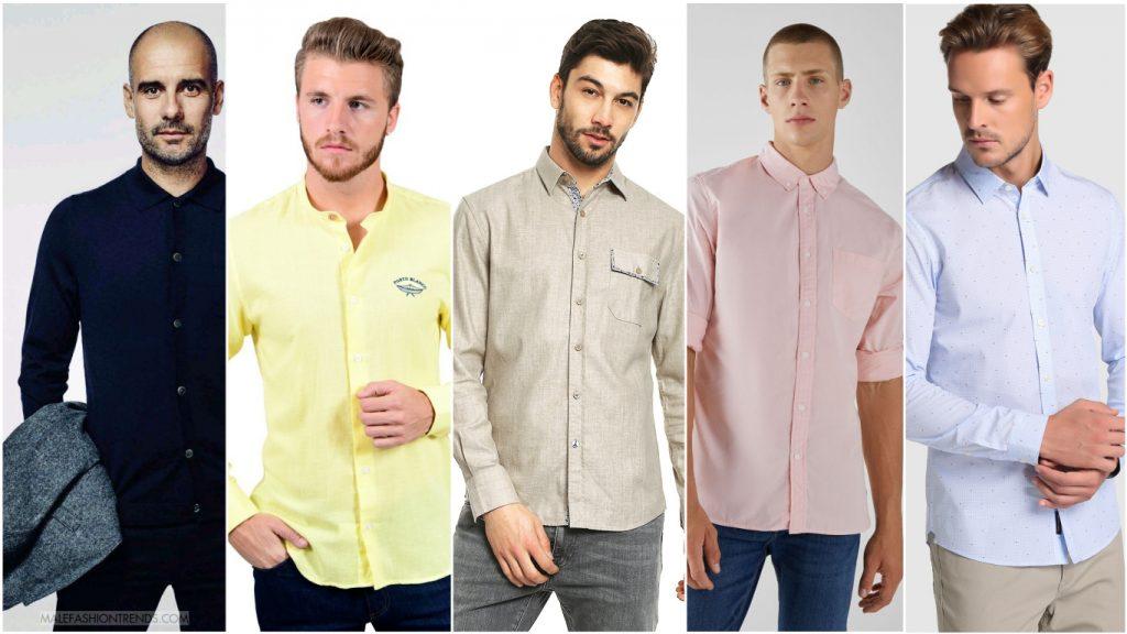 colores de camisas para hombres