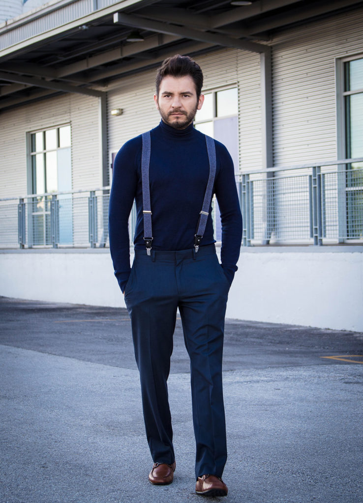Hombres outfit total black
