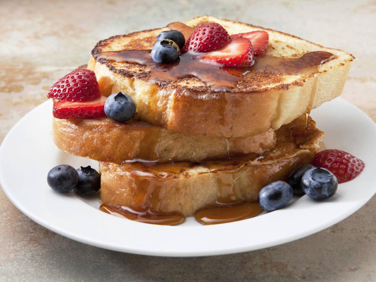 que desayunar tostatadas francesas