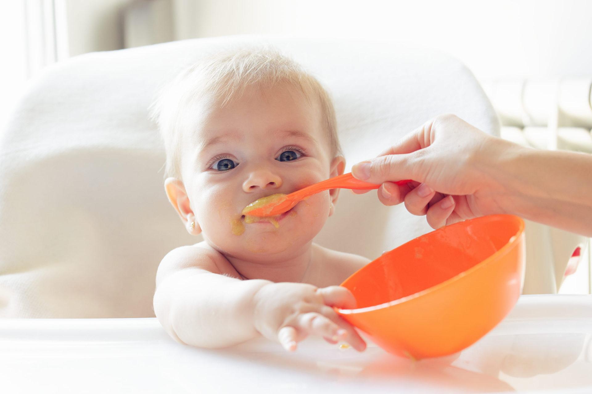 alimentos para bebes de 7 meses