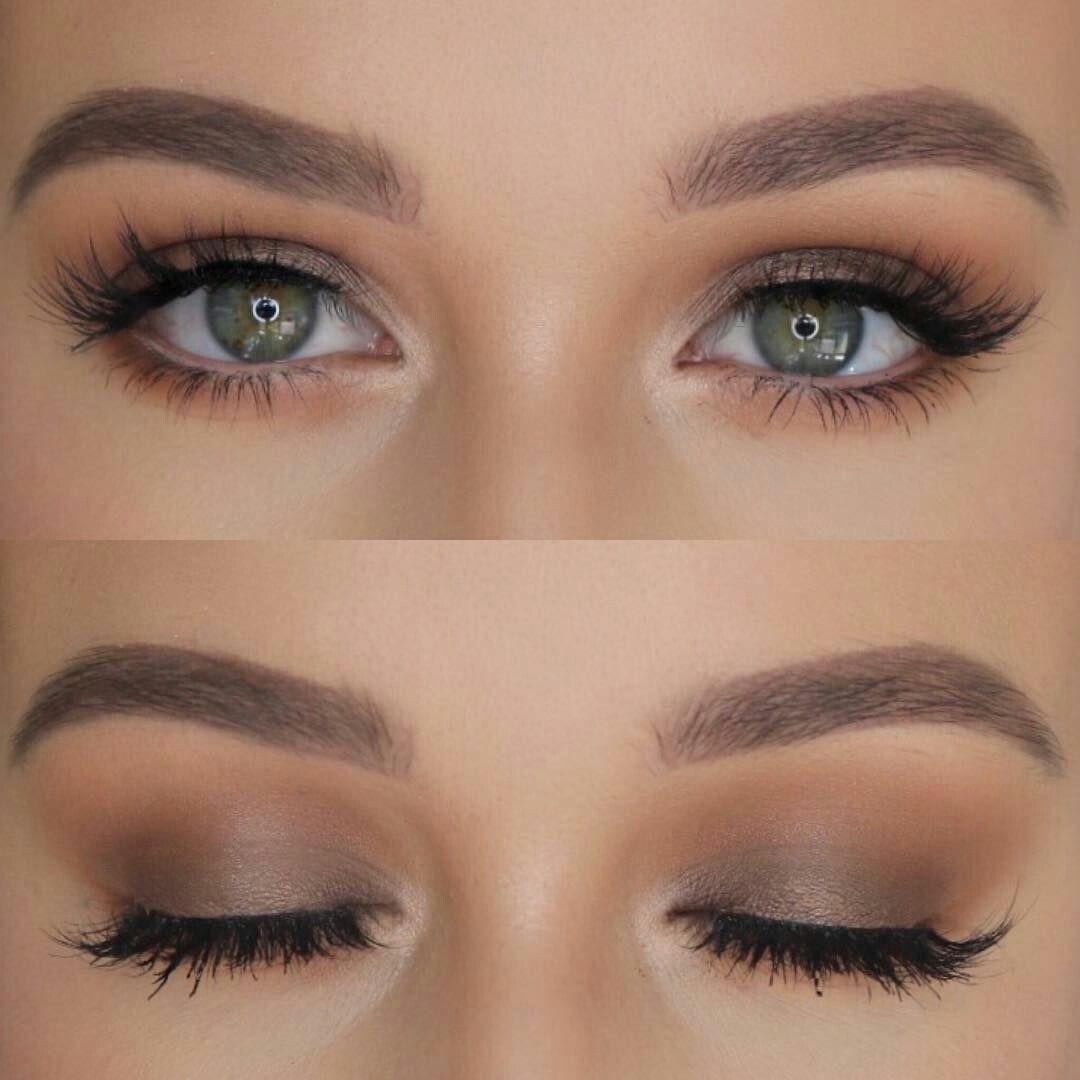 maquillaje natural de ojos bonito y sencillo