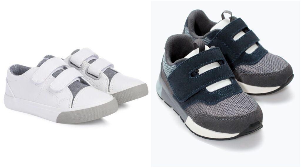 Zapatillas velcro para niño