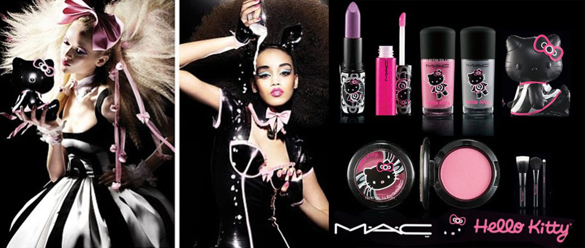 maquillaje mac hello kitty